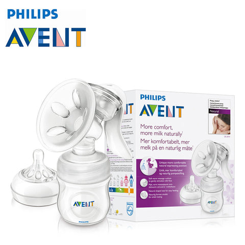 Free Shipping | Avent Manual Breast Pump Silicone Feeding Philips - iWynx