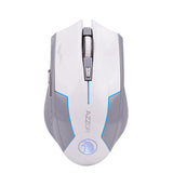 AZZOR Rechargeable Wireless Mouse Slient Button Gaming 2400DPI Built-in Battery with Charging Cable Azzor AliExpress - Periwinkle Online