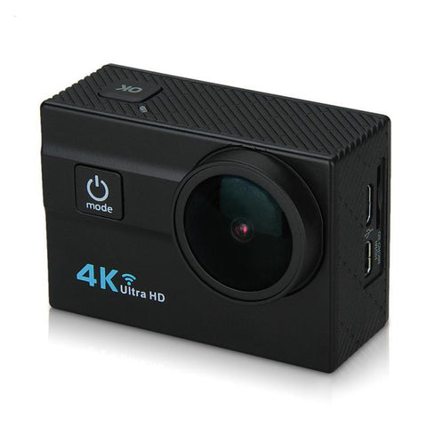 4K Camera Q6H 2 Inch LCD 16MP H.264 173 Wide Lens Waterproof Action DV  Wifi  Action Sports Camera