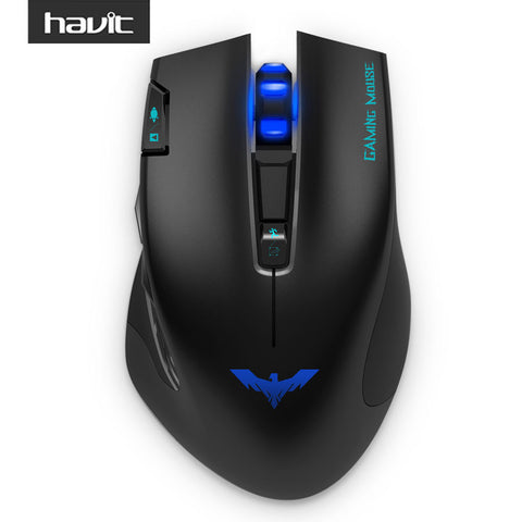 HV-MS978GT 2.4Ghz Wireless Gaming Mouse with 2400 DPI 7 Button USB