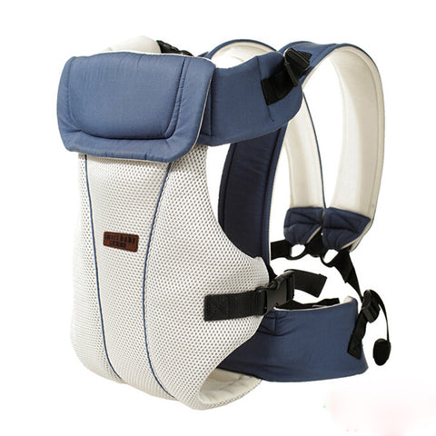 Free Shipping | 2 to 30 Months Baby Sling Breathable Ergonomic Baby Carrier Hip Seat OEM - iWynx