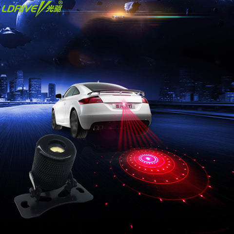 Car Fog light laser Brake Parking Light car tail safety Anti Collisio Brake Warning Light LDrive AliExpress - Periwinkle Online