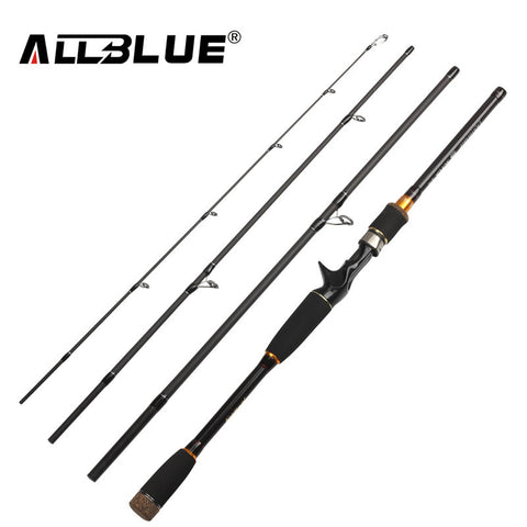 Free Shipping | ALLBLUE Fishing Rod Spinning Casting Rod 99% Carbon Fiber Telescopic 2.1M 2.4M 2.7M AllBlue - iWynx