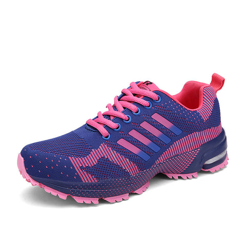 2017 Fly Weave Light Breathable Sport Women Running Shoes Comfortable Sneakers