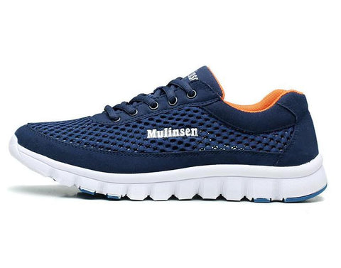 MULINSEN Original MULINSEN Genuine Leather Sport Running Shoes for Men outdoor sport 350 Shoes