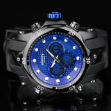 INFANTRY Watches Men Big Dial LED Display Luminous Dual Time Watches * Infantry Watches - Periwinkle Online