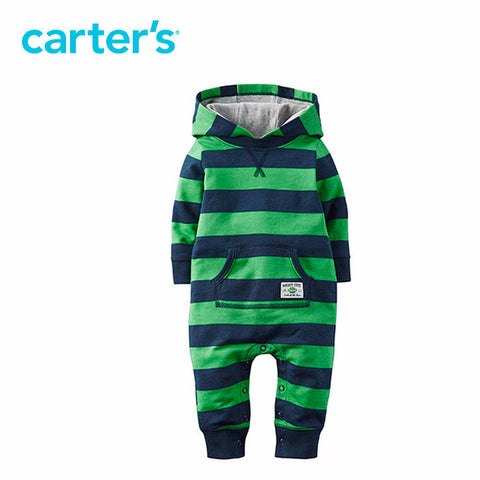 Carter's 1pc  baby children kids Hooded Terry Jumpsuit 118G650 Carter AliExpress - Periwinkle Online