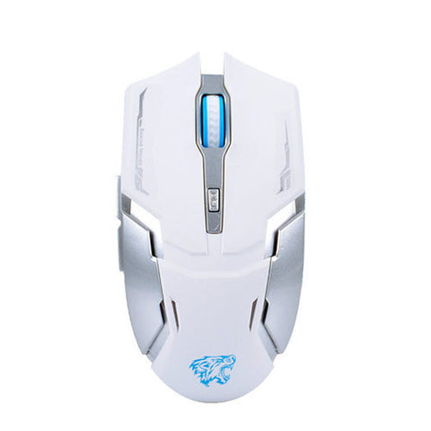 Naffee Cordless Scroll Wireless Mouse Gaming Rechargable Mute Button Silent Click