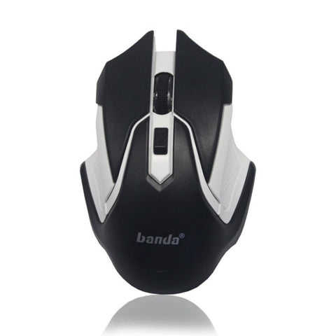 Wireless Gaming Mouse 4 Button 2.4G FPS High-Precision Optical Gaming Mouse * Banda Wireless Mouse - Periwinkle Online