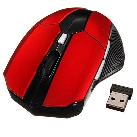 Free Shipping | 2.4GHz Wireless Optical Mouse Mice + USB 2.0 Receiver S Skyee - iWynx