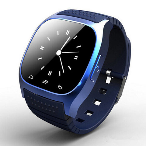 Unisex Bluetooth Smartwatch Waterproof Android Sync Phone Call Pedometer Anti-Lost