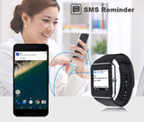 Smart Watch GT08 Bluetooth Connectivity for iPhone Android * other Smart Watch - Periwinkle Online