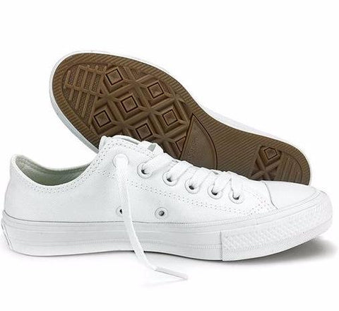 Converse Chuck Taylor All Star II Canvas Shoes 150149C - Low (White) * Converse Skateboarding Shoes - Periwinkle Online