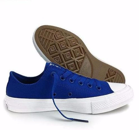 Converse Chuck Taylor All Star II Canvas Shoes 150149C - Low (Blue) * Converse Skateboarding Shoes - Periwinkle Online