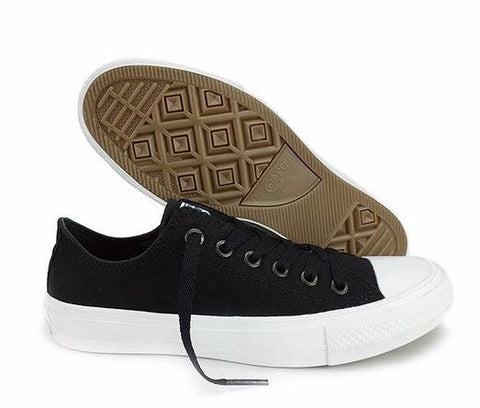 Converse Chuck Taylor All Star II Canvas Shoes 150149C - Low (Black) * Converse Skateboarding Shoes - Periwinkle Online