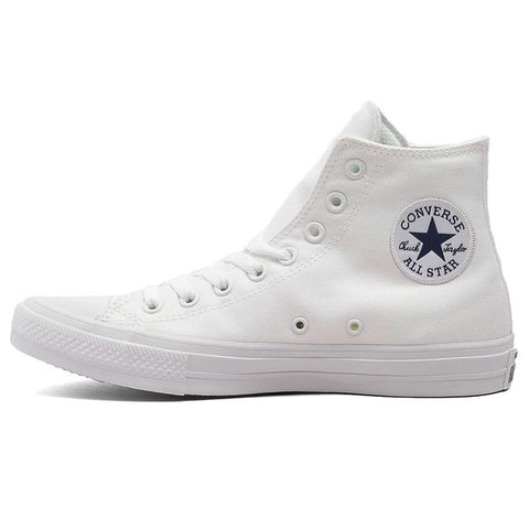 Converse Chuck Taylor II All Star Unisex Sneakers Canvas Shoes 150145C - High (White)