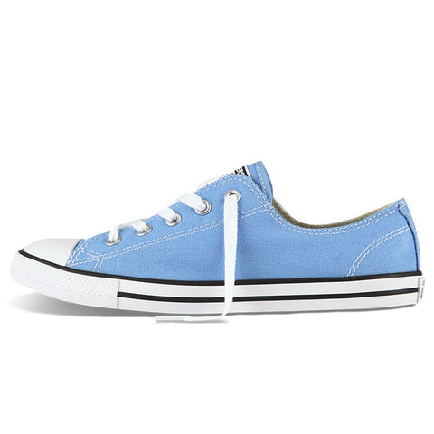Converse All Star Shoes Dainty Canvas Sneakers Women 547156C - Low (Powder Blue)
