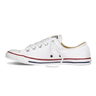 Converse All Star Shoes Dainty Canvas Sneakers Women 547156C - Low (White)