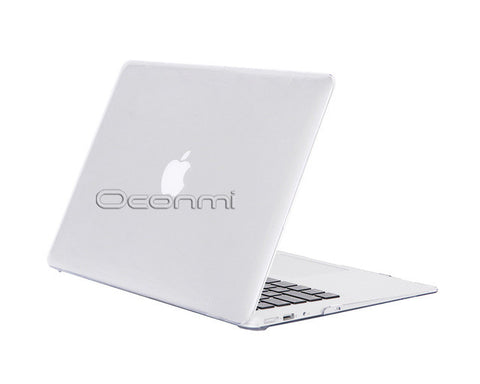 Transparent Crystal Case For Apple macbook Air Pro with Retina 11 12 13 15 inch
