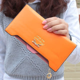 Wilicosh Fashion PU Multi-functional Long Vintage Ladies Clutch Wallet HB005
