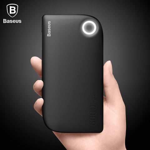 Free Shipping | Baseus 8000mAh Dual USB Quick Charge Powerbank Baseus - iWynx