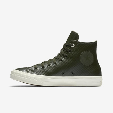 Converse All Star Unisex Leather Sneakers 153554 - High (Dark Grey)
