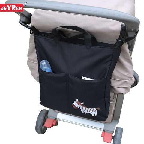 Cartoon Baby Stroller Organizer Accessories Big Capacity Waterproof Bag For Prams KF095 Joyren AliExpress - Periwinkle Online