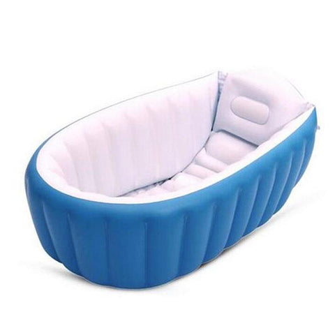 Portable Inflatable Baby Thickening Folding Bathtub