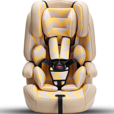 Child Safety Car Seat 3C certification ISOFIX interface for automobile - Beige