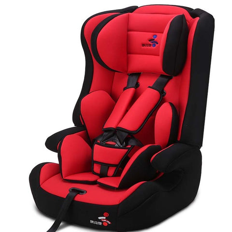 Child Safety Car Seat 3C certification ISOFIX interface for automobile - RED