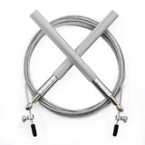 ProCircle Silver CrossFit Training speed Jump Rope for Double Unders Skipping Rope