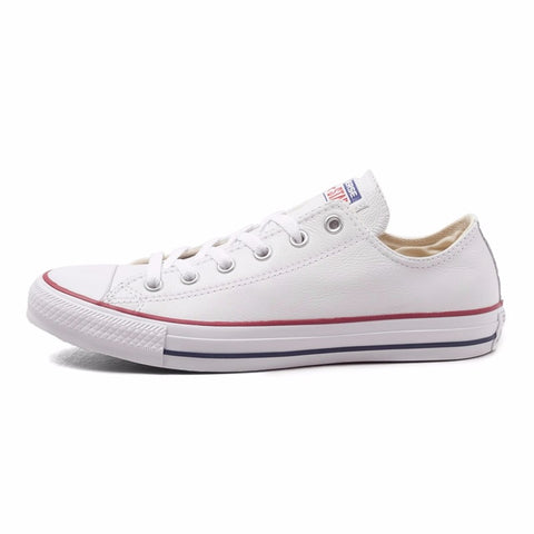 Converse All Star Unisex Skateboarding Leather Sneakers (White) * Converse Skateboarding Shoes - Periwinkle Online