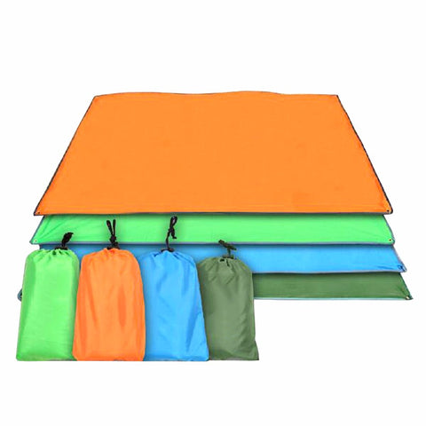 Outdoor Sun Shelter Waterproof Camping Mat Ultralight Tarp Portable Oxford Beach Mat Multifunction Awning Canopy Picnic Blanket