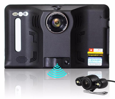 Junsun 7 inch Android Car DVR GPS Radar Dash Camera Video Recorder