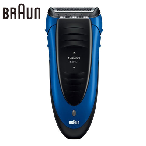 Electric Shaver 190 Blue Reciprocating Blades Rechargeable High Quality Safety Razors * Braun Grooming - Periwinkle Online