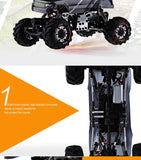 High Speed RC Car 1:24 HBX 2098B 4 Wheel Drive 2.4G Metal Structure Absorption * KidsTime Remote Controlled Cars - Periwinkle Online