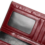 Tauren Genuine Leather High Quality Long Design Clutch Cowhide Wallet