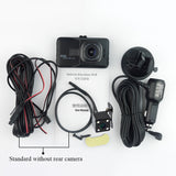 1080p High-definition car video recorder DVR black box car mirror camera Dual camera lens Juefan AliExpress - Periwinkle Online
