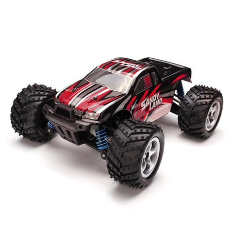 1/18 2.4G 4WD Sandy Land Monster Truck HJ209131 Remote Control RC Car * FS Remote Controlled Cars - Periwinkle Online
