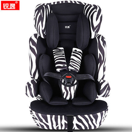 Free Shipping | 5 Color Safety Car Seat with ISOFIX  (0-12 years old) Horse Across The Ocean - iWynx