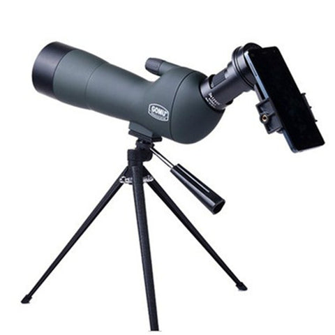 Top 20-60x60 Monocular Zoom Professional Astronomical Telescope Mirror Spotting Scopes