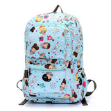 "Unisex Waterproof Nylon 15"" Laptop Computer School / Travelling Backpack"