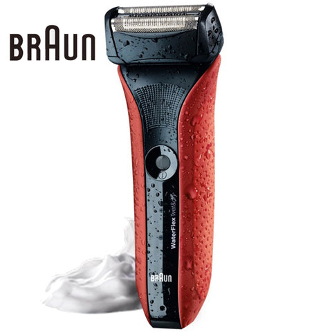 Electric Shaving Razors Waterflex Wet&dry Wf2s Red High Quality Rechargeable Shavers