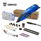 DEKO 220V 135W 32000rpm Variable Speed Rotary Dremel Style w/ Flexible Shaft * Deko Power Tools - Periwinkle Online