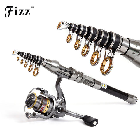 Super Powerful Telescopic Portable Lightweight Carbon Fiber Fishing Rod