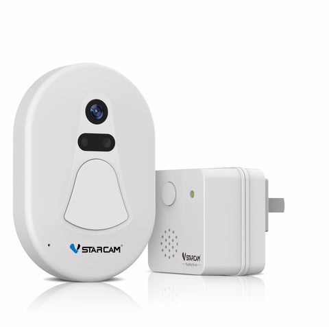 VStarcam HD Door Camera Wifi Free Cloud Storage Photo Security Night Vision Doorbell