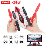 Foldable RC Drone Syma X56W Wifi Camera FPV RC Quadcopter 4CH 2.4G * Syma Camera Drone - Periwinkle Online