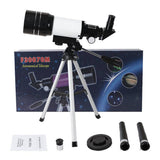 Free Shipping | 150x Professional Refractive Astronomical Telescope with Tripod HD 300/70mm SRate - iWynx