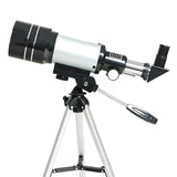 150x Professional Refractive Astronomical Telescope with Tripod HD 300/70mm SRate AliExpress - Periwinkle Online