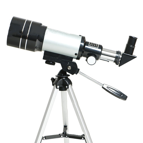 150x Professional Refractive Astronomical Telescope with Tripod HD 300/70mm SRate - Periwinkle Online
